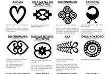 Símbolos africanos