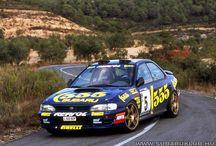 Subaru Impreza 555 élményautózás
