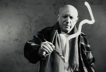 Pablo Picasso / black & white photos