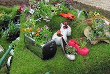 decoraciones pa el jardin