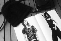 Black & White | Paraphernalia / My media of choice.