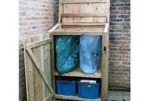 kierrätys ja jätteiden säilytys