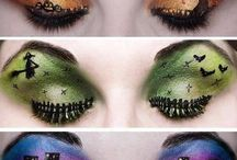 Halloween make-up and costumes
