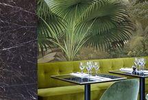 Restaurant design / Inspiration till restaurang