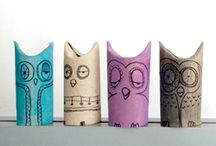 crafting with toilet paper rolls