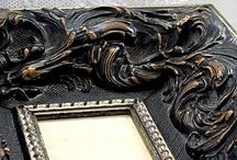 My Black Frames / selection of the black frames I have on etsy