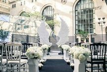 Angel's wings Wedluxe photoshoot / Our comapny has engineered and created white wings for the photoshoot for the Wedluxe magazine.