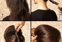 Haare / Friesuren, Haarschnitte, ...