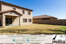 """SOLD! Tres Rios Spacious Home / If you are looking for properties to sell, buy or to rent, let """"The Fry Team"""" make it simple for you. CALL 623-748-3818 or visit www.FryTeamAZ.com for more info."""