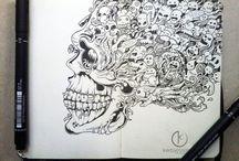 Рисунок. Ручки.