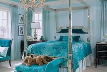Dream Home / I love chandeliers. Black & White. Turquoise. Pink. Purple. Lace. Dreamy. Modern. Sophisticated. Mirrors. Glass. Parisian Chic. Shabby. Bright. Clean lines. Animal Print. Girly. Classic. Beachside. / by Angie Ozden