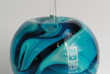 Art of Glass / Some beautiful items straight from the glass factory - Mdina Glass, Malta.