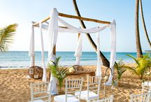"""""""I Do"""" in the D.R. / Sublime Samana's location on the palm-fringed beach of Playa Coson with the mountains serving as a picturesque backdrop, and variety of accommodations offers the perfect setting to host the perfect wedding."""