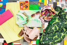 RENKLERLE OYNA / Sarı, pembe, yeşil ve mavi.. Sezonun canlı renkleri, büyük desenleri, metalik aksesuarları yaz güneşinde parlıyor.