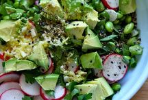 Veggie - Salads / Recipes for Vegetarian & Vegan Salads Perfect for lunches or dinners