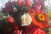 Anyukám kreációi / Virágcsokrok, templomi díszítés
