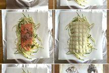 Plat à base de poisson / Fruits de mer