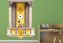 Despicable Me and Minions / Save the world or create a crazy invention with these wacky decals!