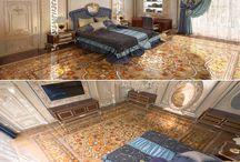 Parquet carpets