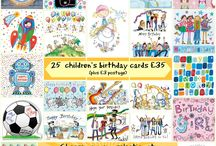 Happy Birthday / Happy birthday presents, greeting cards, wrapping and ideas