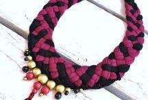 boho necklace braided