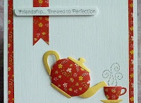 (AG) Cards ~ Tea Time / Life is like a cup of tea, it's all in how you make it.