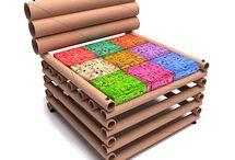 Circle Cardboard Projects