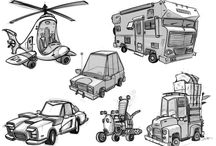 Stylized Vehicles