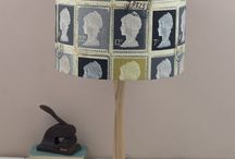 Stamp Lamps / Inspiration for postage stamp lamp