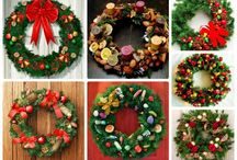 рождественские венки.идеи