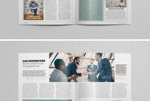 bulletin magazines design