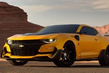 "New Camaro ""Bumblebee"" in the Transformers 5"