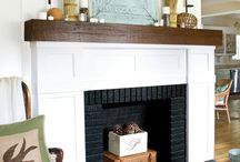 fireplaces / by Erin Holman