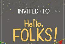 Hello,FOLKS!-2- / Hello,Folks!-2- @SHINKAI