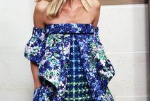 hombros vestido