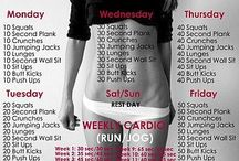 Health and fitness routine