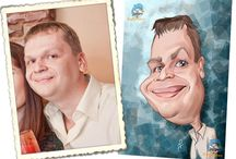 Portrait Caricature /  Portrait Color Caricature: The Portrait Color Caricature is a digital caricature based on the portrait resemblance. It is created in digital A2 size with a resolution of 300 dpi including head and shoulders portrait caricature. It is the ideal gift for birthdays and other events. It can be printed in any studio on a canvas or photo paper (and then framed), T-shirts, etc…