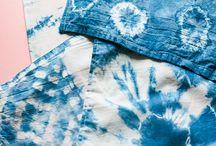 shibori & batik & dye