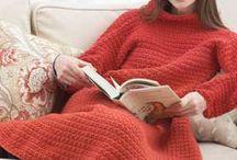 Wrap ghan / Crochet snuggie