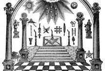 Masonic Art (B&W, Sepia) / Masonic Art & Masonic Motifs in Art (B&W, Sepia)