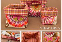 Textiltárolók