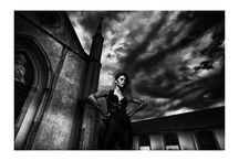 Goth / Gothic mood fashion shooting