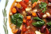 SOUPS / Use our Carmelina 'e…San Marzano® Italian Tomatoes and Carmelina Brands Italian Beans® in these tasty soup recipes!