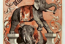 vintage circus illustrations