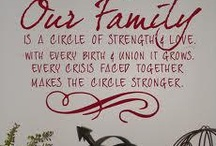 Family / by Jeanne Lightbourn Stricklin