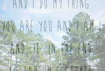 Quotes ♥ / by Shaina Guariglia