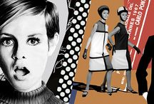 Мода 60-х / Шестидесятые – это сплошные знаковые открытия в моде. Повсеместными стали культ инновационных синтетических тканей и этнический хипповский стиль, появились дерзкие мини-юбки, брюки капри и джинсы скинни, подолы платьев, подобно юбкам, смело рванули вверх вместе с талией, а со страниц модных журналов в повседневную жизнь шагнули геометрические стрижки и начесы а-ля бабетта. Конец шестидесятых ознаменовался появлением рукавов-фонариков, принта в горошек, мокасин и андрогинного стиля.