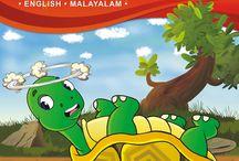 Malayalam Dvd / kids learning,animated stories