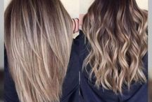 hair color/lengths
