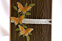 Stampin Up Butterflies / handmade cards